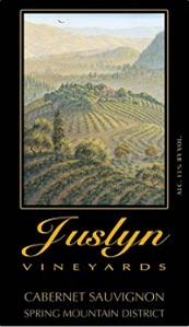 Juslyn Vineyards Cabernet Sauvignon Spring Mountain